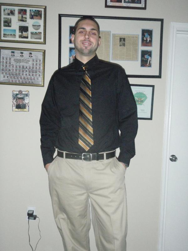 Black Dress Shirt Khaki Pants | Is Shirt